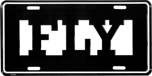 License Plate Ifly Tag Ifly