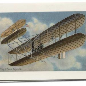 NOTECARD-WRIGHT BROS AIRPLANE