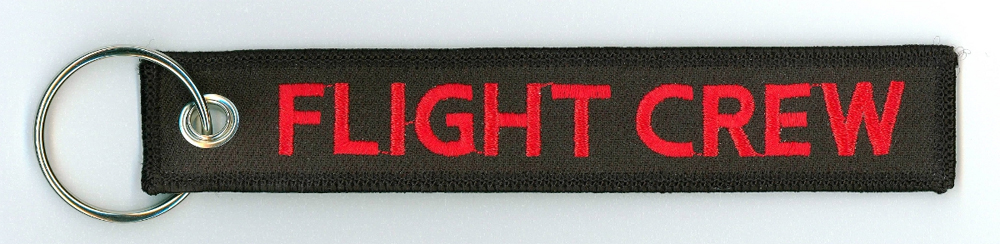Key Chain, Embroidered, Flight Crew