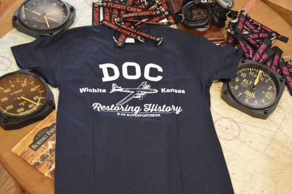 Doc's B29 Superfortress Tshirt in Navy