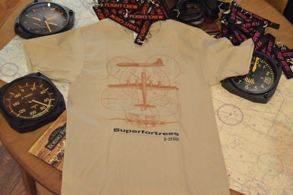 Doc's Friends B29 Superfortress Tshirt in Desert Sand