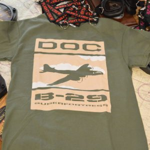 Doc's B29 Superfortress Tshirt in Military Green