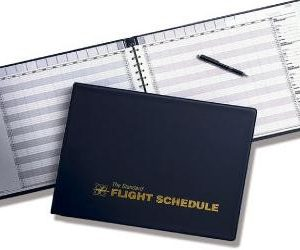 Flight School Schedule Books